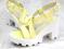 Босоножки на каблуке, желтые