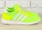 Кроссовки adidas желто - салатовые