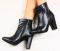 Ботинки деми черные кожа классика