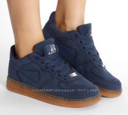 Кроссовки синие Хит