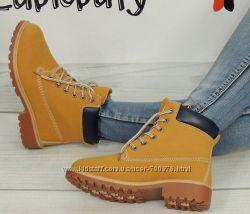 Ботинки в стиле Тимберленд