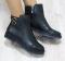 Ботинки кожаные с застежками