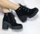 Ботинки замшевые на шнуровке демисезонные