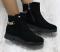 Ботинки замшевые с цепочкой демисезон