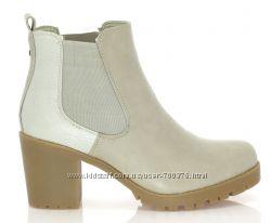 Ботинки демисезон, устойчивый каблук