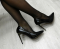 Туфли - лодочки черные