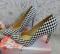 Туфли - лодочки расцветка шахматка