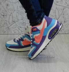 Кроссовки в стиле АирМакс, разноцветные