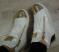 Ботинки белые утепленные