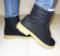 Ботинки зимние черные.
