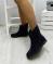 Ботинки замшевые синие