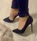 Туфли полуоткрытые с ремешком