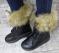 Ботинки зимние высокие на платформе