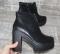 Ботинки черные демисезон