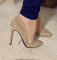Туфли в стиле Zra беж