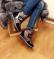 Ботинки зимние цвет бронза
