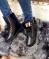Ботинки утепленные с метал лейбой