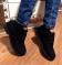 Ботинки демисезон черные