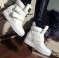 Ботинки - сникерсы Shoes белые