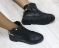 Ботинки кожаные с цепочкой демисезон