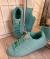 Кроссовки - кеды голубые