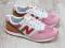 Кроссовки N натуральные, розовые.