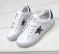 Кроссовки белые, звезды