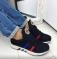 Кроссовки черные стильные