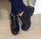 Ботинки кожаные низкие