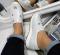 Кроссовки кожаные, без шнуровки