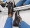Ботинки на шнурках, темное серебро