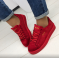 Кеды - криперы Rihanna, красные