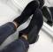Ботинки натуральная синяя замша Челси