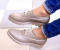 Туфли кожаные, на утолщенной подошве, кофейные, 41 р