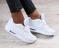 Кроссовки, белые, на шнурках