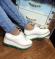 Туфли на танкетке белые