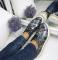 Туфли кожа на толстой подошве, украшенной плетенной косичкой