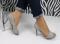 Туфли летние серого цвета