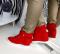 Сникерсы с декоративным замочком, красные