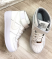 Кроссовки кожаные высокие белые
