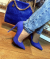 Туфли лодочки Vices, синие