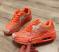 Кроссовки стильные оранжевые