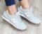 Кроссовки замшевые в стиле New Balance, серые