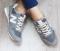 Кроссовки замшевые в стиле New Balance