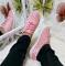 Кеды розовые