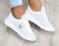 Кроссовки натуральная кожа, перфорация, белые