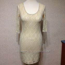 Платье Gloria Jeans, кружево, р. S, XS