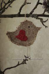 Птичка - валентинка