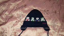 Шерстяная шапочка для девочки