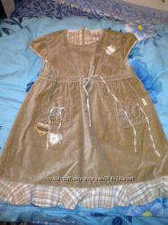 Платье mariquita велюровое 98 состояние нового